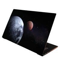 Laptop Folie  Aufkleber Schutzfolie für Notebook Skin Weltall Planet 13-17 Zoll