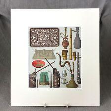 Chino tradicional Impresión Arte Popular Antiguo Disfraz histórico de Asia Racinet