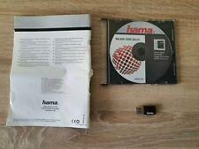 Hama WLAN USB Stick wireless LAN 150 Mbps + Triber CD-Rom + Anleitung