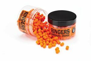 Ringers Chocolate Orange Wafters 6mm/10mm/12mm Bandem Boilies 70g Pot Carp Bait