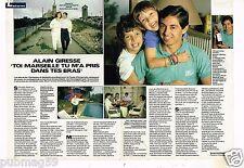 Coupure de presse Clipping 1987 (2 pages) Alain Giresse