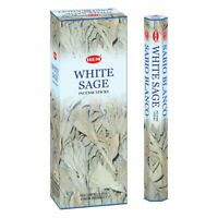 Hem Incense Sticks White Sage Bulk 120 Stick for Cleansing Spiritual Blessings