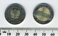 Poland 2016 - 5 Zlotych Bi-Metallic Coin - Collectible - Ksiezy Mlyn w Lodzi