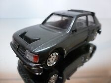 VITESSE - PEUGEOT 205 TURBO 16 - GREY 1:43 - EXCELLENT CONDITION -37