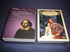 Teaching Co Great Courses DVD    GREAT AUTHORS WESTERN LITERARY TRADITION +bonus