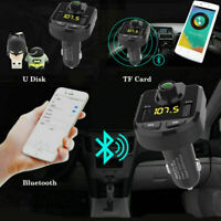 Bluetooth Car Kit FM Transmitter Wireless Adapter MP3 Player Dual USB Charger