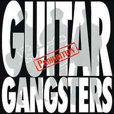 GUITAR GANGSTERS - PROHIBITION - (brand new re-issue LP c/w lyric insert) WR088