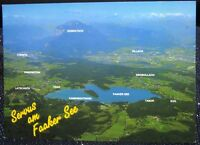 Austria Panoramablick uber den Faaker See - posted