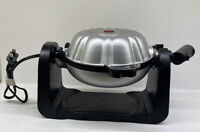 Elite Cuisine ECM-2919 Electric Flip Bundt Pan Cake Maker Baker Machine