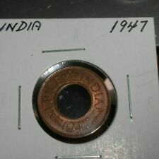 BRITISH INDIA 1947 1 PICE UNC COIN