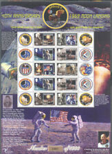 Isle of Man-Moon Landing Anniv mnh limited print sheet (0483)Space