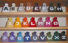 Eierwärmer gestrickt, Buchstaben, individuelle Farbauswahl