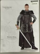 Warrior King Costume One Size Fit. Great As A Theater, Reenactment Costume.