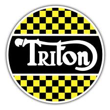 Triton ADESIVO BICI MOTO NORTON 85 x 85mm CAFE RACER