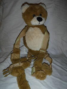"Gold Bug Eddie Bauer Bear Child Harness 28"" Reach Plush Soft Toy Stuffed Animal"