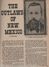 Famous Outlaws of New Mexico+Silva,Brown,Allison,Leyba,Ketchum,Kennedy,Holliday