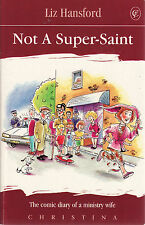Not a Super Saint: The Comic Diary of a Ministry Wife - Liz Hansford - Christina