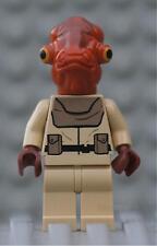Genuine LEGO® Star Wars™ Mon Calamari Officer Minifigures From Set 7754
