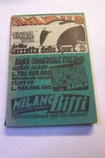 ALMANACCO DELLO SPORT 1934 RARISSIMO