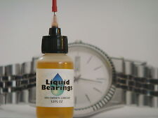 Liquid Bearings, BEST 100%-synthetic oil for any precision wrist or pocket watch