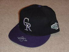 Mike Hampton 2001 All Star Game Signed Hat Cap Colorado Rockies