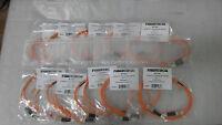 LOT OF 10 - Fibertron 807900 FPC MM62 2F LC LC 2M Ceramic Zip (2.0MM) 0RN