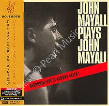 JOHN MAYALL & BLUESBREAKERS JOHN MAYALL PLAYS JOHN MAYALL CD MINI LP OBI + bonus