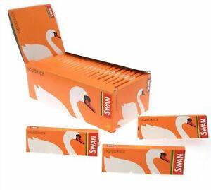 SWAN LIQUORICE Standard Smoking Cigarette Rolling Papers Regular Size Skins