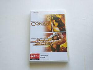 Conan The Barbarian  / Conan The Destroyer - Arnold Schwarzenegger 🇦🇺 Seller!