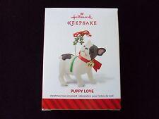 Hallmark 2014 Keepsake Christmas Ornament ~ Puppy Love ~ 24th In Series Bulldog