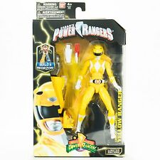"Mighty Morphin Power Rangers Yellow Ranger Legacy 6.5"" Inch Action Figure"