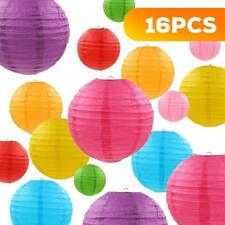 """Homgif Paper Lanterns - 16 Packs for Size of 4"""", 6"""",8"""",10 34; w"""