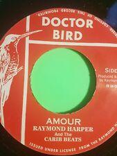 DOCTOR BIRD . AMOUR / SAFARI  RAYMOND HARPER REISSUE