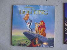 Disney The Lion King Movie Laserdisc
