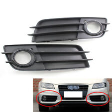 Front Bumper Fog Light Grille with Black Ring Right For Audi A4 S-LINE S4 08-12
