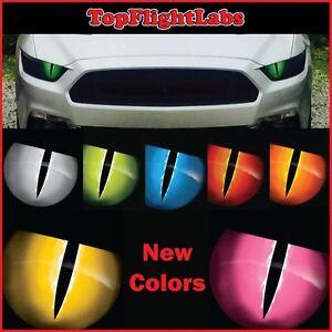 2005 - 2020 Ford Mustang Jason Brozak Headlight overlay Snake Eyes