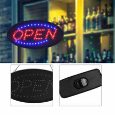 "Led ""Open"" Sign Board Pub Club Window Display Light Lamp for Bar Shop Windows"