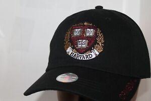 HARVARD UNIVERSITY CREST HAT,CAP One Size Fits Most  Off. Licensed Harvard
