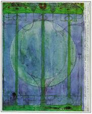 Tree of Personal Effort Charles Rennie Mackintosh print in 10 x 12 inch  mount