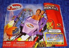 Knex K'Nex Rippin Roller Coaster Manual Only 79 pages Smoke Free Home