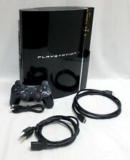 EARLY 3.41 FIRMWARE Sony PS3 40GB HDMI Video Game System Console tower CECHG01