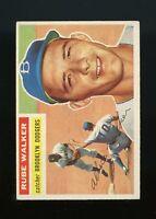 1956 Topps BB Card #333 Rube Walker Brooklyn Dodgers NR-MINT