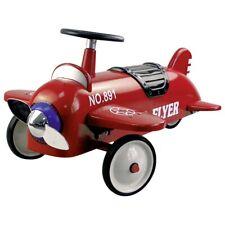 GOKI Rutscherfahrzeug Flugzeug Kinderfahrzeug Rutschauto Metall Kunststoff