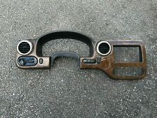 2003 2006 Ford Expedition Instrument Dash Bezel Panel Wood Grain Finish
