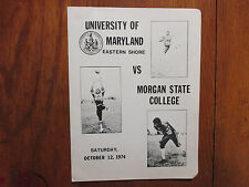 HAROLD GRAY(Died in1990)Signed 1974 U of Maryland Eastern Shore Football Program