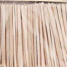 DEO EYEBROW SPATULAS FACIAL UPPER LIP CHIN WAXING 100 STICKS.