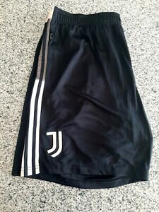 Juventus Shorts Mens Black Pink Football Soccer Adidas GK8606 Size 2XL