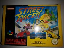STREET RACER ORIGINAL SNES GAME BOXED COMPLETE