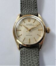 1950'S ROLEX OYSTER SPEEDKING MID-SIZE 17 JEWELLED WRIST WATCH CAL 1210 WORKING