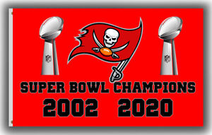 Tampa Bay Buccaneers Champions Football Team Flag 90x150cm3x5ft Fan Best banner